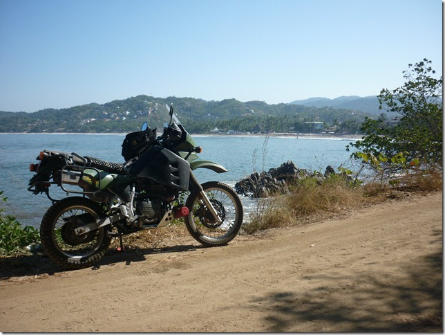 Exploring the coast near Sayulita, Mexico
